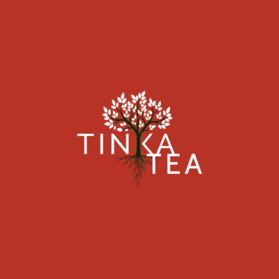 THE SHAPE TINKA TEA RED VELVET LOGO