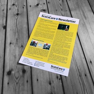 THE SHAPE SCOTSCARE NEWSLTTER