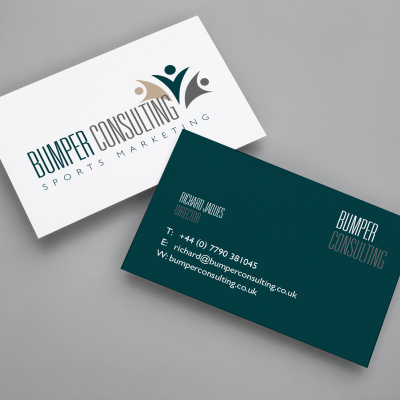THE SHAPE - BUMPER CONSULTING BUSINESS CARDS